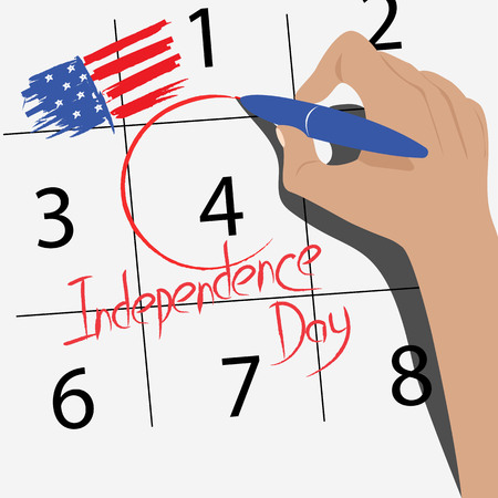 The 4th of July. independence day
