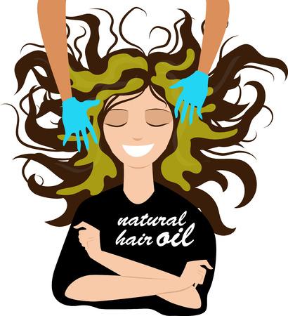 hair oil mask