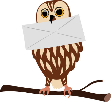owl brought a letter