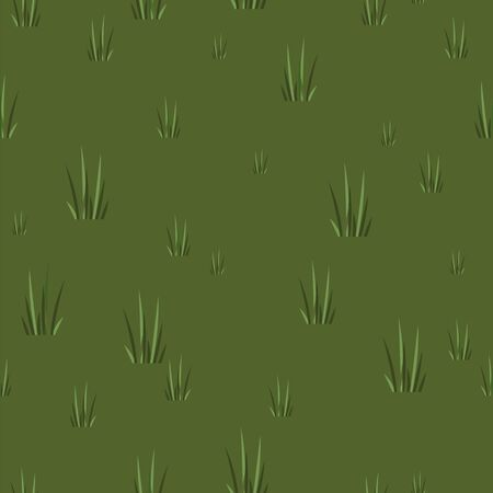 swamp. pond. seamless background of a grassy pond. vector background