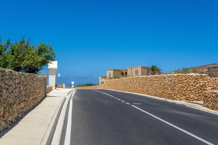 Road in Malta