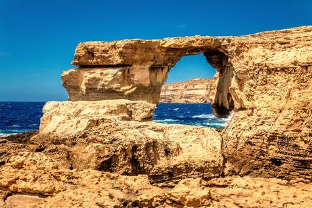 azure: Azure Window, Malta
