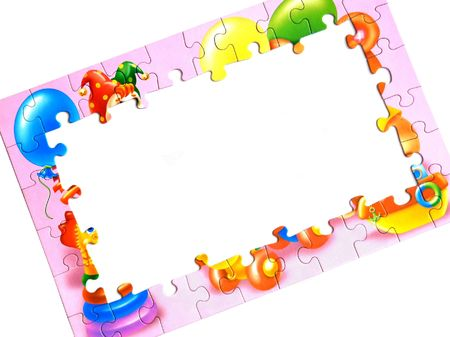 school strategy: The frame of the child puzzle