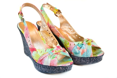 Fashionable women's summer shoes 写真素材