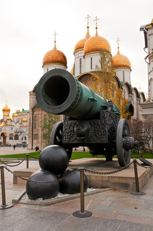 tsar: Tsar Cannon in Moscow Kremlin