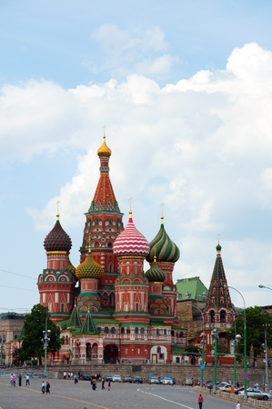 St. Basil's Cathedral  in Moscow, Russia Stock Photo - 18793541