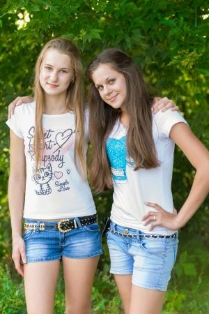 yaşları: Parkta genç kız