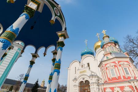 lavra: Trinity-Sergius Lavra in Sergiev Posad, Russia. A landmark
