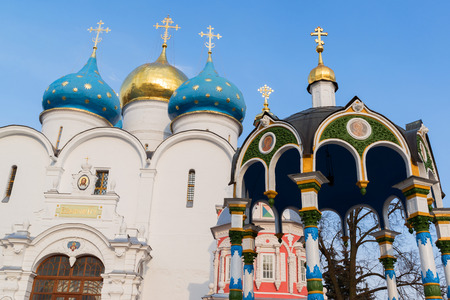 Trinity-Sergius Lavra in Sergiev Posad, Russia. A landmark
