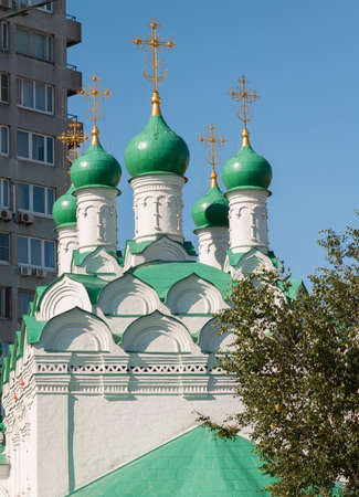 built in: Moscow, Russia. Church Simeon on a Cook built in 1676