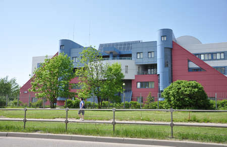 rectal: MOSCOW, RUSSIA 05.28.2015 - Department of the Military Commissariat in Zelenograd Editorial