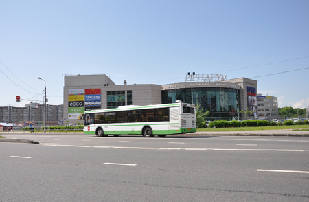 entertainment center: MOSCOW, RUSSIA 05.28.2015 - shopping and entertainment center Iridium in the city of Zelenograd