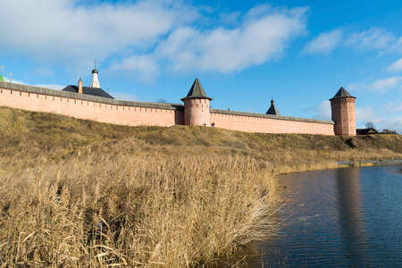 founded: Saviour and St. Euthymius monastery in Suzdal, founded in 1350. Golden Ring of  a Russia Travel