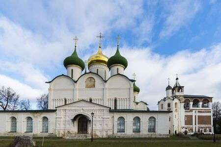 church bells: Transfiguration Cathedral in St. Euthymius monastery in Suzdal was built in the 16th century. Golden Ring of Russia Travel