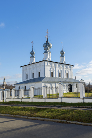 Petropavlovskaya Church in Suzdal was built in a 1694. Golden Ring of Russia Travel Stock Photo