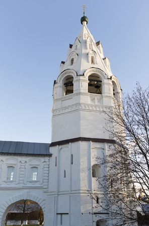 sanctity: Refectory with Conception church in Suzdal was built in the 16th century. Golden Ring of Russia Travel