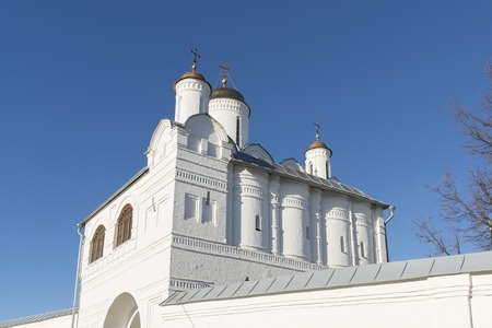 16th century: Nadvratnaya Church in Pokrovsky nunnery built in a 16th century in Suzdal. Golden Ring of Russia Travel