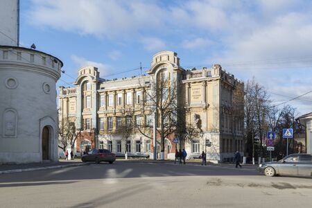 pedagogical: VLADIMIR, RUSSIA -05.11.2015. State Pedagogical University is  the former Real School