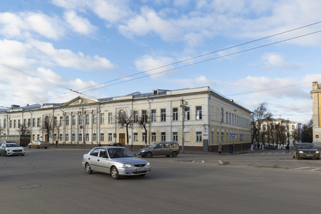 19th: VLADIMIR, RUSSIA -05.11.2015. Public School Number One was built in the 19th century