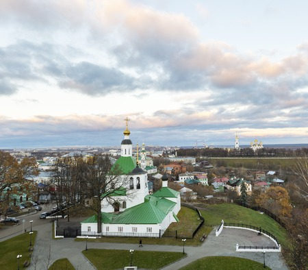 st nicholas: Vladimir, Russia - November 05. 2015. The Church of St. Nicholas was built in the 17th century Editorial