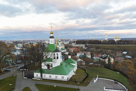 17th: Vladimir, Russia - November 05. 2015. The Church of St. Nicholas was built in the 17th century Editorial