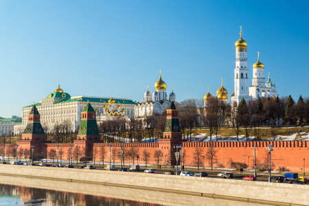 The Cathedrals of the Moscow Kremlin, Russia