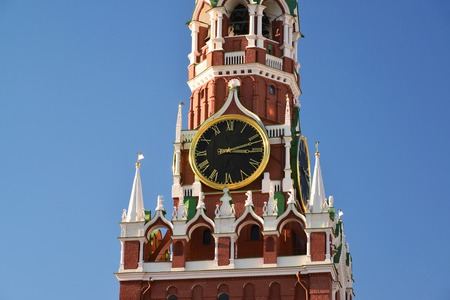 spasskaya: Spasskaya tower of a Moscow Kremlin, Russia Editorial