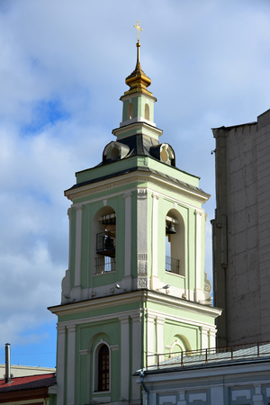 beheading: Moscow, Russia. Belfry of Temple of the Beheading of John the Baptist