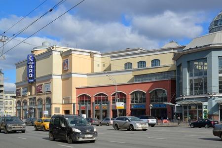 atrium: Moscow, Russia - March 14, 2016. the shopping center Atrium  at Metro Kurskaya
