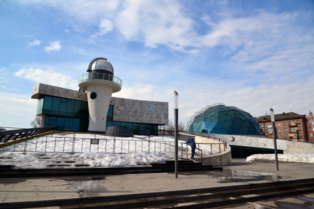 tereshkova: Russia, Yaroslavl-March 29.2016.  Planetarium named after the Valentina Tereshkova