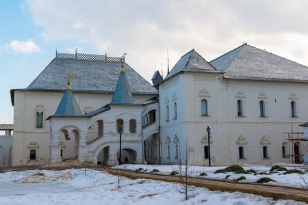kingly: Rostov Veliky, Russia-March 30.2016.  Kings House in the Rostov Kremlin Editorial