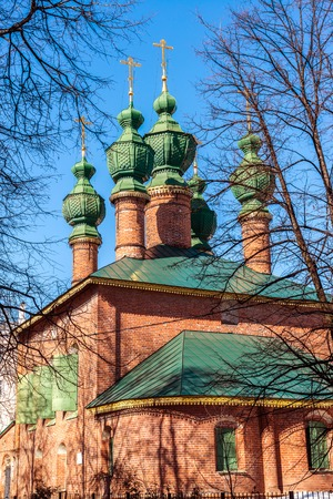 17th: Church of the Annunciation was built in the 17th century in Yaroslavl, Russia