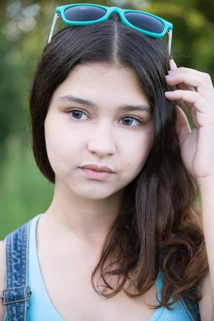 teeny: Portrait of a beautiful girl 15 years