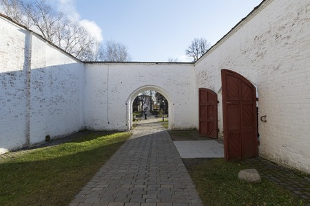 pokey: The prison on the territory of St. Euthymius monastery in Suzdal. Golden Ring of Russia Travel