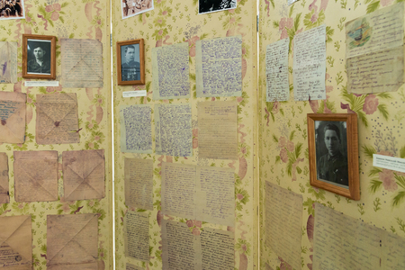marshal: Volgograd, Russia November 02, 2016. Museum of Memory -Place captivity fascist Marshal Paulus in a World War II
