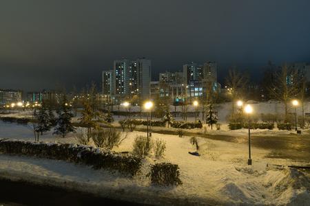 Zelenograd - sleeping area of Moscow, Russia
