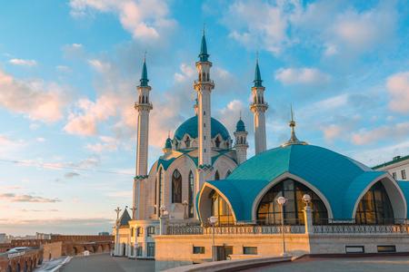 Kul-Sharif moschea a Kazan Kremlin in Tatarstan, Russia Archivio Fotografico - 75163464