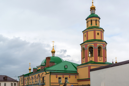 Kazan, Russia. The Church of Descent of the Holy Spirit