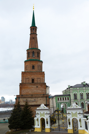 Kazan, Russia. Palace of President of Tatarstan in the Kazan Kremlin Stock Photo