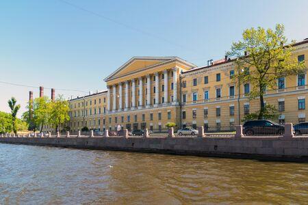 San Petersburgo, Rusia - 4 de junio 2017 El hospital de Obukhov Academia militar-médica
