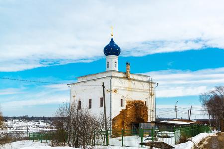 The Annunciation Church in the city of Tutaev, Russia