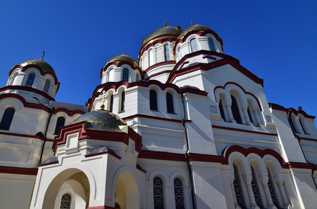 A Novy Afonsky for male Monastery in Abkhazia