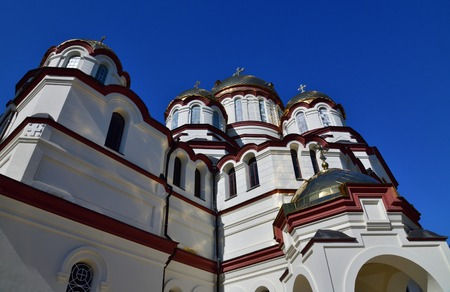 Panteleimon Cathedral in a Novy Afonsky for men Monastery in Abkhazia