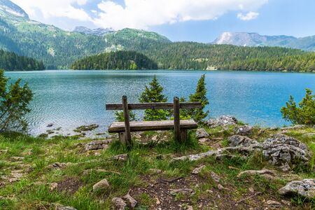 Montenegro, Durmitor National Park, the Black Lake Banco de Imagens