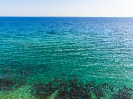 The Mediterranean Sea off the coast of Protaras city, Cyprus