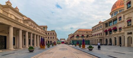 Doha, Qatar - Nov 20. 2019. Galleria Lafayette at the Katara Plaza in Katara Village