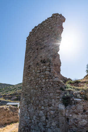 Bernabo Grillo Tower. Ruins of the Genoese Chembalo in Crimea