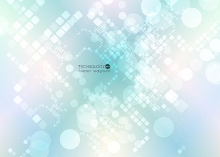 Abstract geometric technology pattern design.