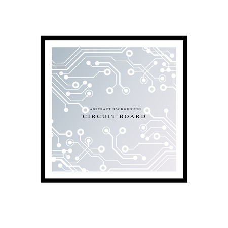 Circuit board, technology background. Vector illustration EPS 10 Illustration