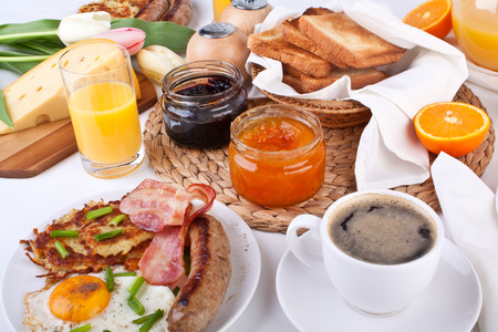 Traditional Manhattan brunch Stock Photo